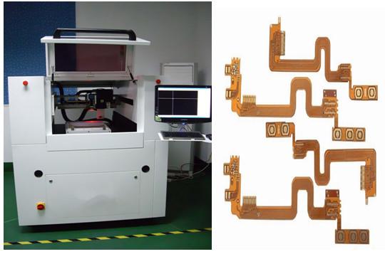 Hohe Präzision UVcnc Laser-Schneidemaschine Brett für multi- Schicht FPC/Rfs