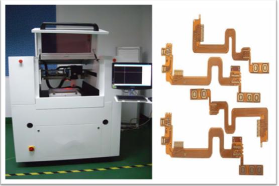 Automatische Multiboardplatte CNC Laser-Schneidemaschine mit Hochleistungs-UV-Licht Laser