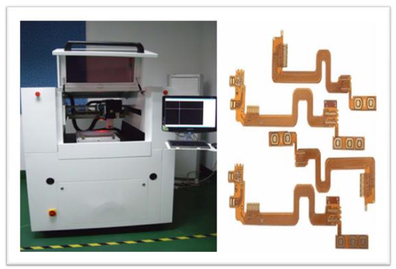 Hohe Präzision Cnc-UV-Laser Cnc-Maschine Wechselstrom 220V/50Hz 2,2 Kilowatt für PWB-Ausschnitt