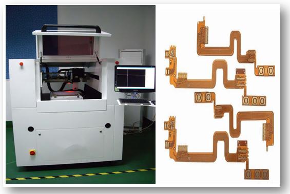 UV-Laser-Schneidemaschine für Leiterplatte 1780 * 1680 * 1560 Millimeter