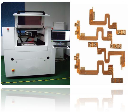 Keramische/Glas CNC Laser-Schneider-Maschinen-genaue Steuerung, FPCA-Ausschnitt-Leiterplatte