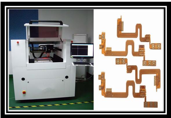Cnc-Laser-Schneider der hohen Geschwindigkeit, 8W/30 kHz intelligente keramische Brett-Laser-Trennschneider-
