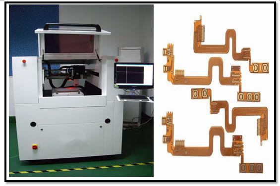 flexible der gedruckten Schaltung 10W CNC Graviermaschine Laser-Schneidemaschine-/Laser