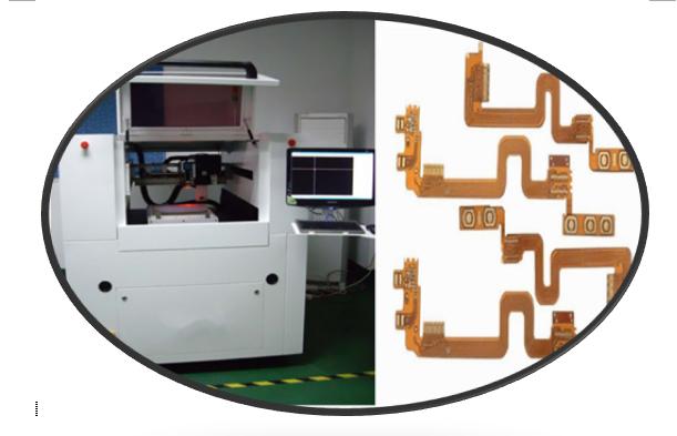 Präzision UVcnc Laser-Schneider für flexible Leiterplatten, Hochgeschwindigkeits-CNC-Metalllaser-Schneidemaschine