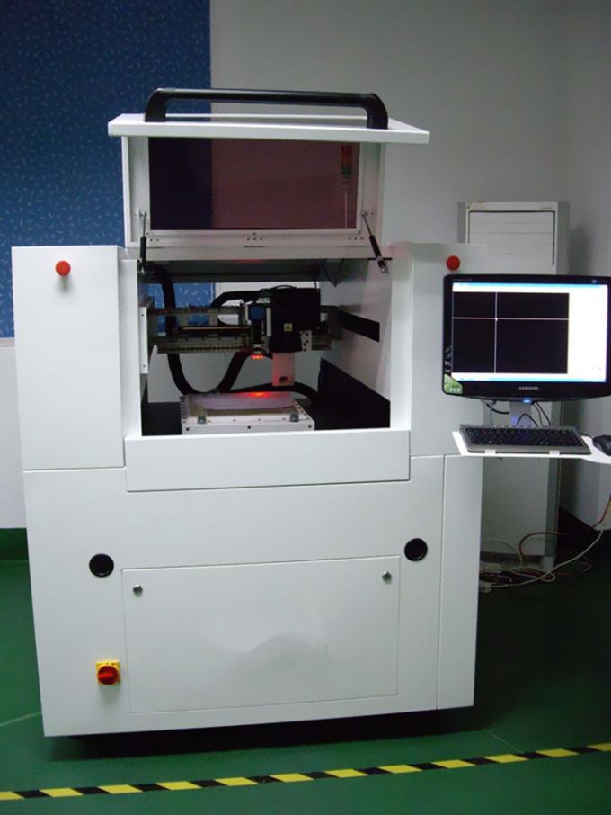 Grafiken CNC Laser-Schneidemaschine mit hoher Dichte mit wenig Karbonisation