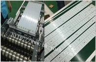0.8 - 3,0 Millimeter starke Maschine PWBs Depaneling mit LCD-Anzeigen-Hochgeschwindigkeitsstahl-Blatt