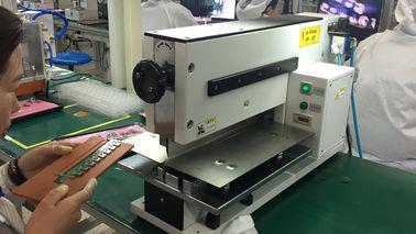 Pneumatisch gefahrene Maschine PWBs Depaneling für den Schnitt PWB-Brett-V geschnittenen PWBs Depanelizer