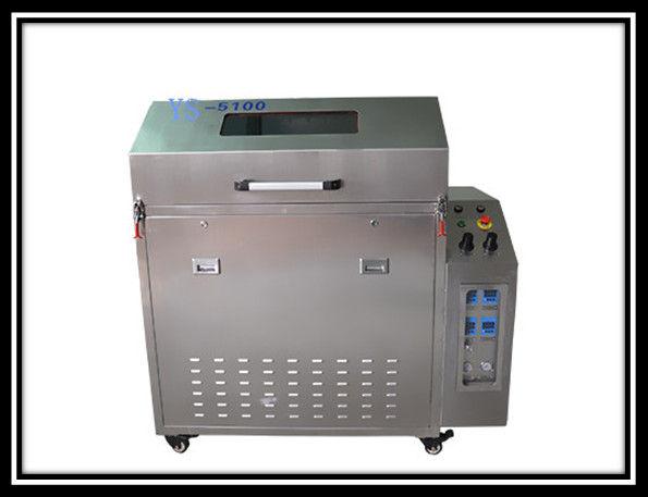Hochdrucksprühknopf-einfache Operation der Schablonen-Reinigungs-Maschinen-eine